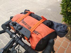 Bikepacking Front Bag Holder, Front light bracket, Extra storage, Multiple slots