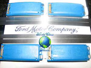 *BRAND NEW*FORD OEM TPMS SENSORS 0 MILE TAKE OFFS Set Of 4, W/BANDS  *BRAND NEW*