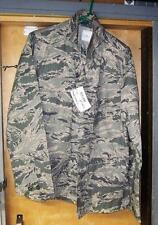 Genuine USAF ABU 40R Utility Coat Jacket - Tiger Stripe, Air Force NWT