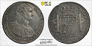 Spanish Colonial Mexico - 8 Reales - 1791 - AU Detail