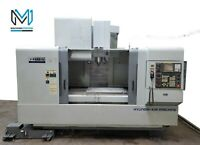 HYUNDAI WIA VX-650/50 VERTICAL MACHINING CENTER 50 TAPER TSC CNC MILL - DOOSAN