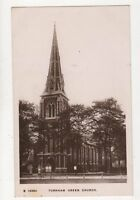 Turnham Green Church London [Kingsway S12384] Vintage RP Postcard 753a