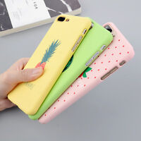 Pineapplie Cute Pattern Case Cover Hard Back For Apple iPhone 8 6s 7 Plus 5s