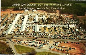 Vintage Postcard - Anderson Jockey Lot Flea Market South Carolina SC #5257