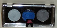 1 Maybelline Eye Studio Trio No Crease Cream Eyeshadow BLUE FREEZE #10