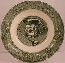 Royal China - USA, The Old Curiosity Shop (Green), Fruit/Dessert (Sauce) Bowl