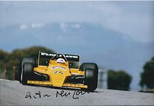 Arturo MERZARIO SIGNED FORD Cosworth Spanish GP 12x8 Photo AFTAL COA Autograph