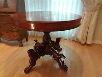 ANTIQUE ORIGINAL FRENCH  EMPIRE TABLE AUTHENTIC  EARLY 19th CENTURY