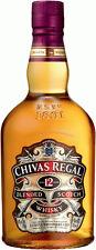 Chivas Regal 12 años, blended Scotch Whisky, 1 litros