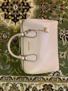 Michael Kors Mercer Pebbled Leather Duffel Bag