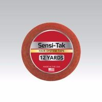 "Walker Sensi-Tak Tape (Red Tape) 3/4"" X 12 Yard Roll for Poly Units Wigs Toupee"