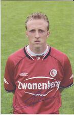 AUTOGRAMMKARTE / AUTOGRAPHCARD Sjaak Polak FC Twente Enschede 2003/2004