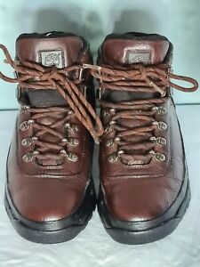 Timberland low Brown leather Hikers-walkers Boots 7UK EU40 Unisex VGC
