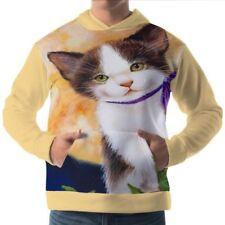 Katzen Herren-Kapuzenpullover & -Sweats aus Fleece