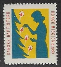 Denmark Poster stamp: Danish Baptist African Congo Mission, 1960 -  cw69.3