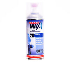 SprayMax Lackspray 2K Klarlack 400ml hochglänzend  Spray Max Benzinfest K680061