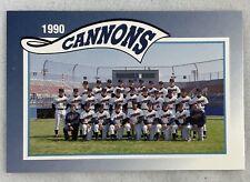 1990Prince William Cannons Minor League Baseball Card#30-Team Photo