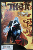 THOR #6 1ST PRINTING VF/NM MARVEL COMICS 2020