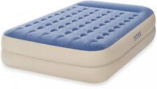 Intex Queen 18 Dura-Beam Standard Raised Pillow Rest Airbed Mattress