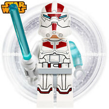 LEGO Star Wars Minifigures - Jek-14 c/w Lightsaber ( 75018 ) Minifigure