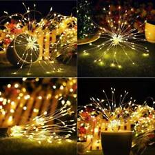 Firework LED Copper Wire Hang String Waterproof Micro Lights For Wedding Decor