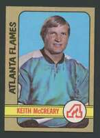 1972-73 Topps #27 Keith McCreary NM/NM+ Flames 19050