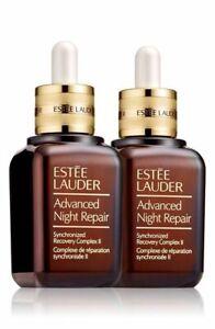 ESTEE LAUDER ADVANCED NIGHT REPAIR SIERO SYNCHRONIZED COMPLEX II NEW 2x50= 100ML