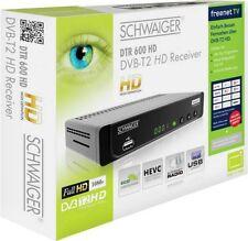 Schwaiger dvb-t-receiver dtr600hd dvb-t2 freenet TV