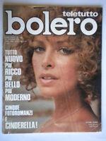 Bolero1433 Sydne Rome Mia Martini Deodato Cercato Giuliani Mastroianni Valli