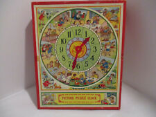 Vintage Victory Picture Puzzle Clock G. J. Hayter England #76