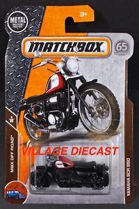 2018 Matchbox #89 Yamaha SCR950 RAPID RED / MOC