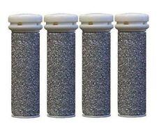 Emjoi Micro-Pedi Mineral Ersatzrollen Sehr Grob Fr , 4 x Pack, Silver