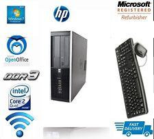 HP DESKTOP TOWER PC INTEL QUAD CORE CPU 1TB HD 16GB RAM WI-FI WINDOWS 7 Pro