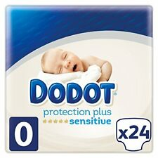 Dodot Protection Plus Sensitive Pañales talla 0 (1.5 - 2.5 kg)