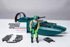 Vintage GI JOE -1984 Cobra Water Moccasin w/ Pilot Copperhead 100% Complete