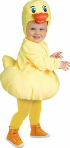 Childs Rubber Ducky Costume - Fancy Dress Book Week Toddlers Easter Duck Chicken