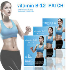 30 day Supply Vitamin B12 30 Patches B-12 Complex Energy Patch Fitness 5000mcg