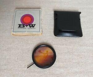 Vintage B+W 55E Filter