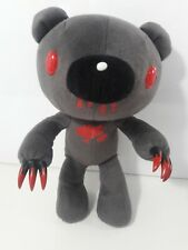 """Gloomy Bear Chax Colony Red & Grey Posable Plush Toy Cubeworks 12"""" USA Seller"""