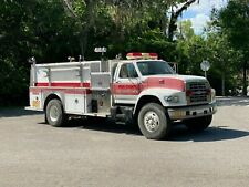 1996 Ford F-800 E-One Pumper Fire Truck 8.3 Cummins Low Miles 75K Florida Truck