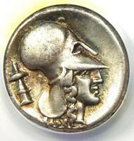 Corinthia Corinth AR Stater (400-375 BC) Pegasus and Athena - ANACS VF35