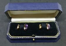 Antique 14ct Gold Cufflinks hallmarked