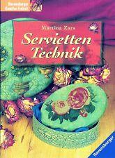 Servietten-Technik Marina Zars TB sehr gut