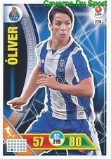 228 OLIVER TORRES ESPANA FC.PORTO CARTAO CARD ADRENALYN LIGA 2017 PANINI