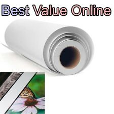 """Premium Polyester Canvas Matte Epson Canon HP 36"""" x 60' Roll inkjet printing zx"""