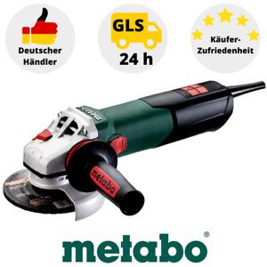 METABO WEV 15-125 Quick Winkelschleifer 1550W 125mm Schleifmaschine Flex