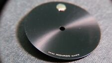 Movado Museum 87 25 832 Dial shiny black dial with yellow dot. 21mm diameter