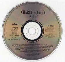 "CHARLY GARCIA ""ORO"" RARE SPANISH CD / MERCEDES SOSA -SPINETTA - LEON GIEGO AZNAR"