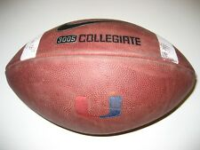 Miami Hurricanes Canes GAME USED Nike 3005 Football - CANES - University