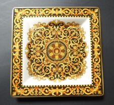 Versace Rosenthal square  plate.Barocco.New. Very rare.